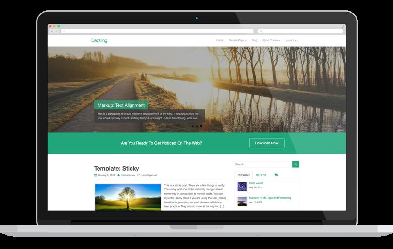 Os melhores temas para WordPress, gratuitos e responsivos para seu ...