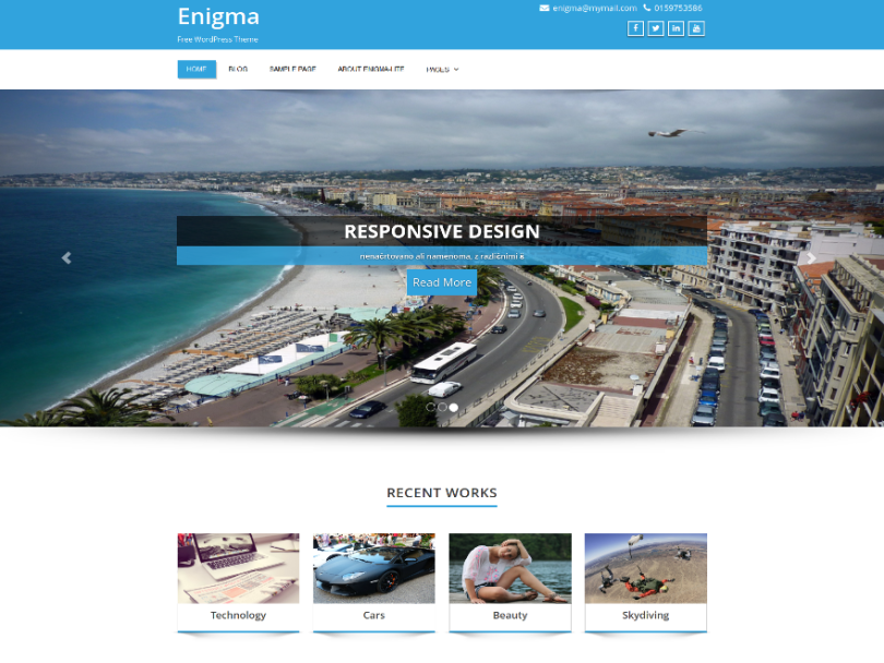 Enigma-free-theme-wordpress