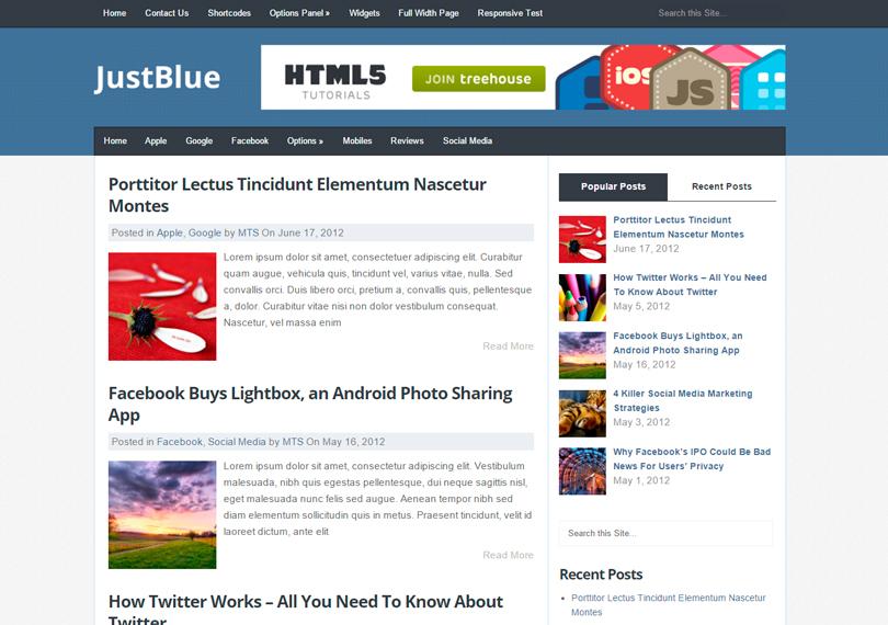 JustBlue-theme-wordpress