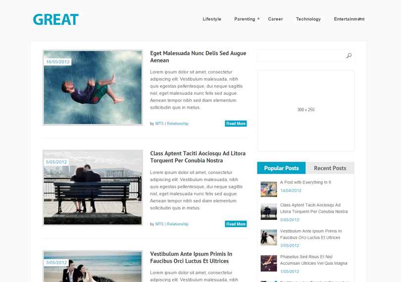 Wordpress-great-theme